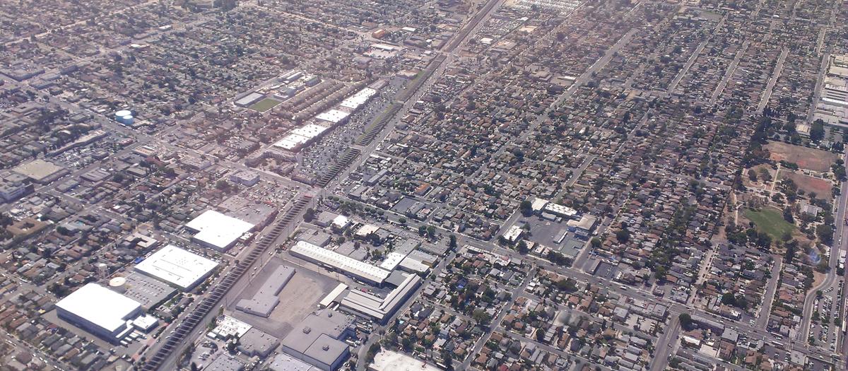Alameda Corridor in Los Angeles, CA