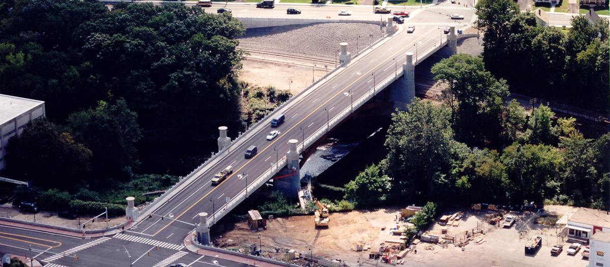 Thread City Crossing Route 661 Bridge in Windham, CT