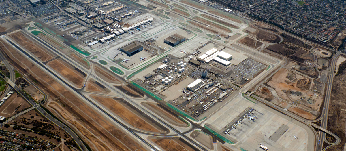 Los Angeles International Airport (LAX) in Los Angeles, CA