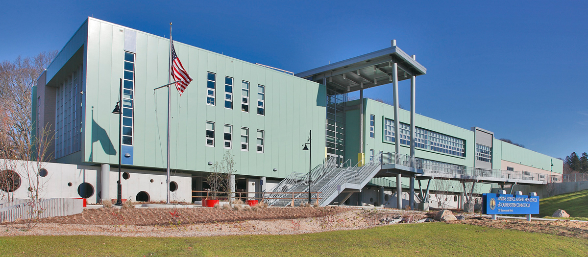 The Marine Science Magnet High School in Groton, CT