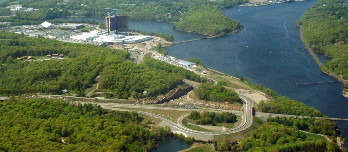 Mohegan Sun Resort Access Road and Route 2A Widening in Montville, CT