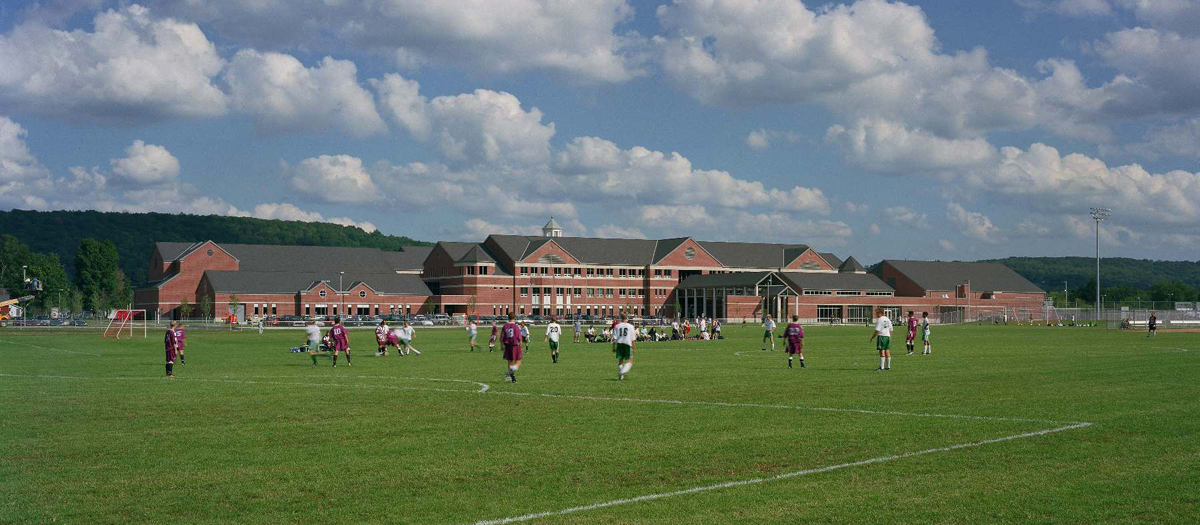 New Milford High School in New Milford, CT