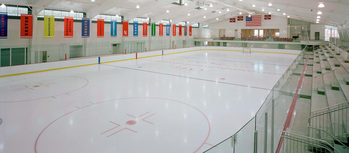 The Taft School Odden Hockey Arena in Watertown, CT