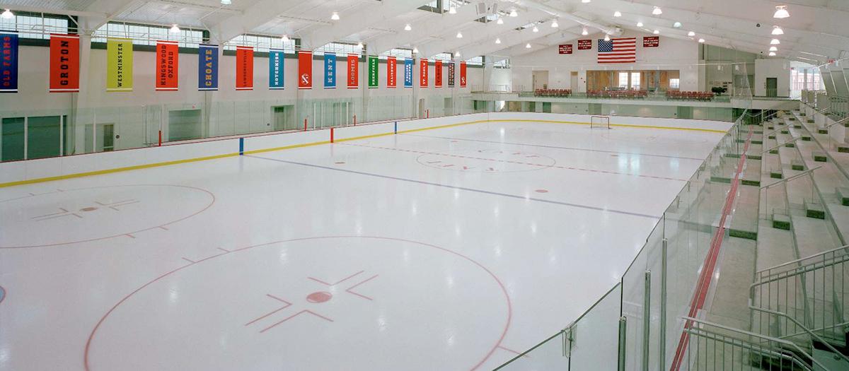 The Taft School Odden Hockey Arena in Watertown, CT