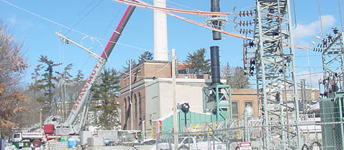 University of New Hampshire Co-Generation Plant in Durham, NH