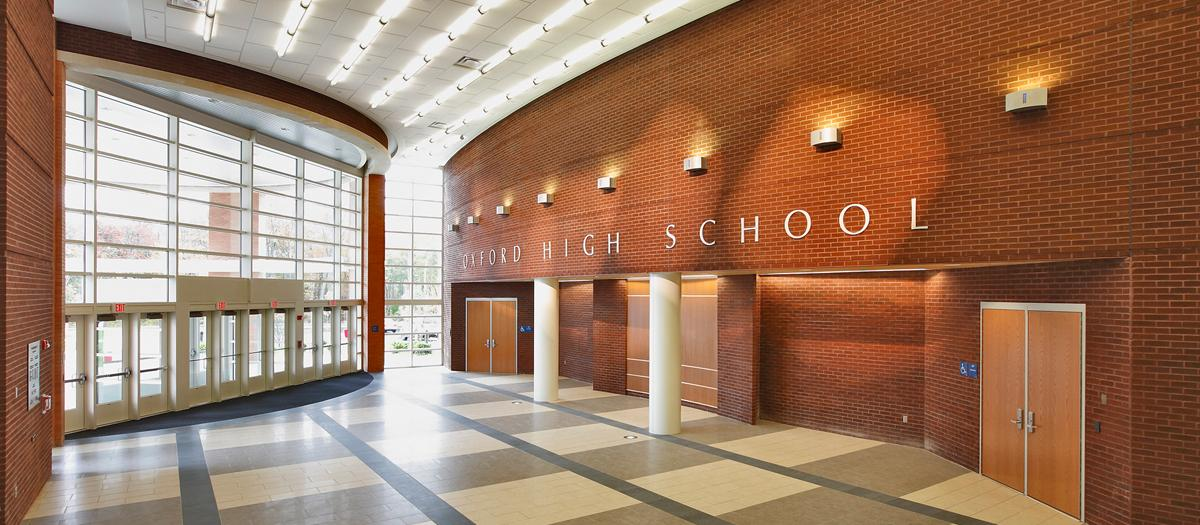 Oxford High School in Oxford, CT