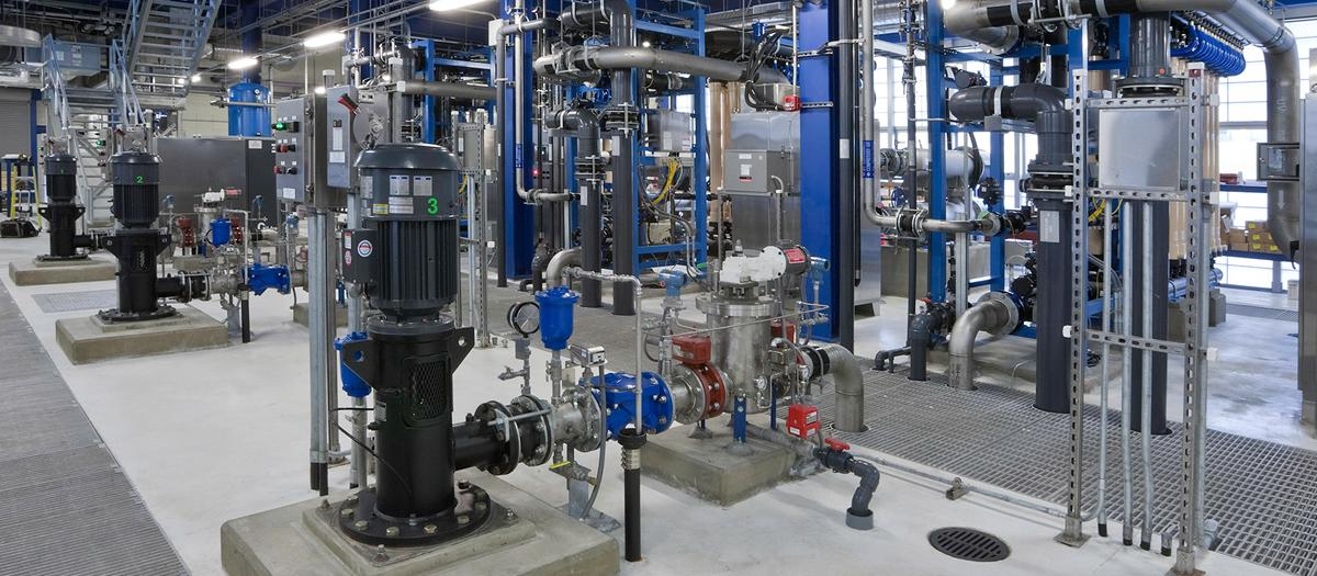 UConn Water Reclamation Facility in Storrs, CT