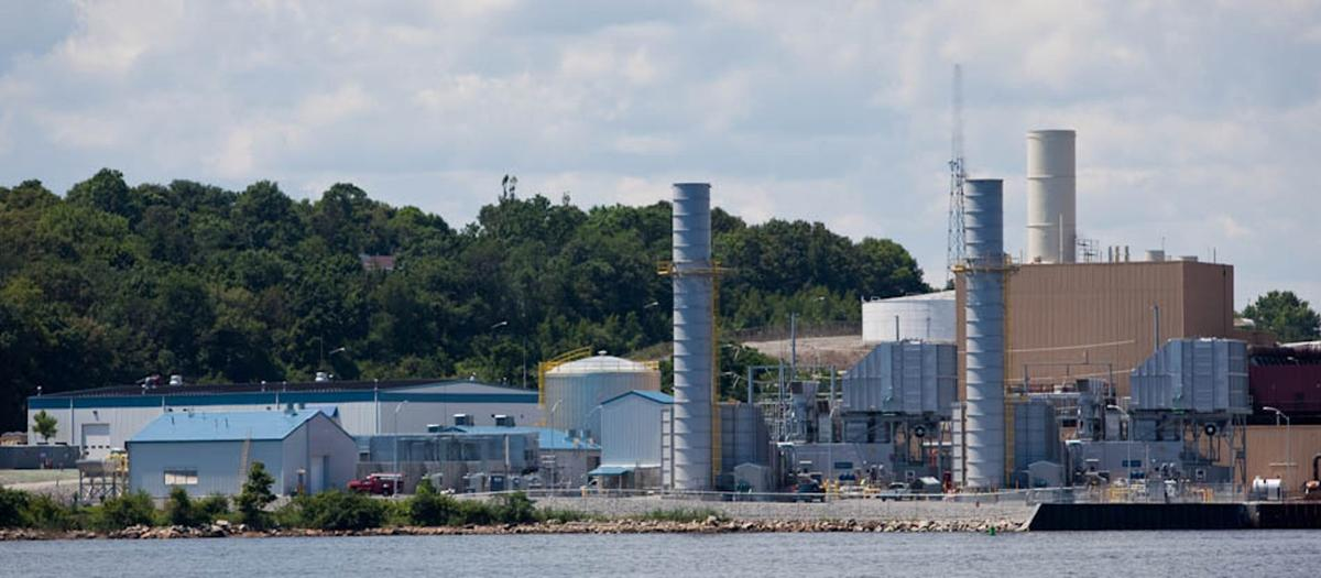 Thomas A. Watson Generating Station in Braintree, MA