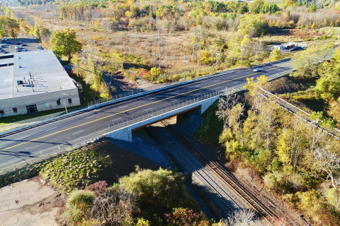 Route 175 Bridge in Newington, CT