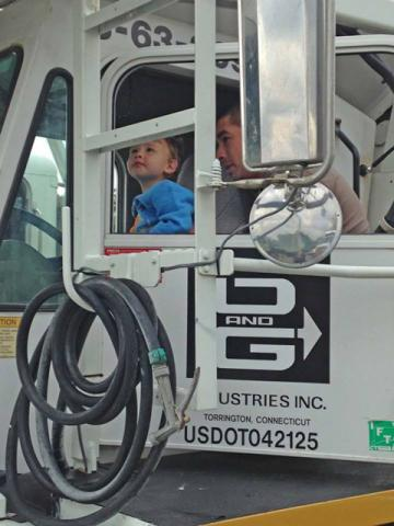 """O&G sponsors """"Touch a Truck"""" event in Danbury, CT."""