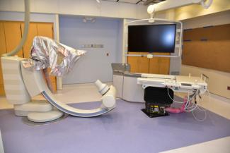 Cath Lab #2 at St. Mary's Hospital