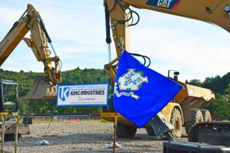O&G breaks ground King Industries Waterbury site