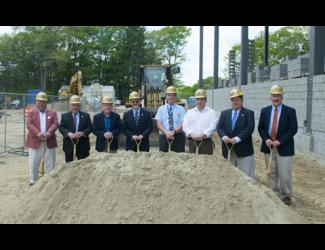 Groundbreaking at Putnam High School